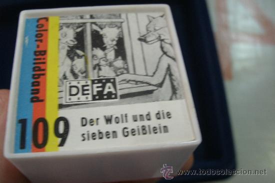 Cine: ANTIGUA PELICULA ALEMANA DE 35 MM EN SU CAJA - DER WOLF UND DIE SIEBEN GEIBLEIN - Foto 5 - 33468408