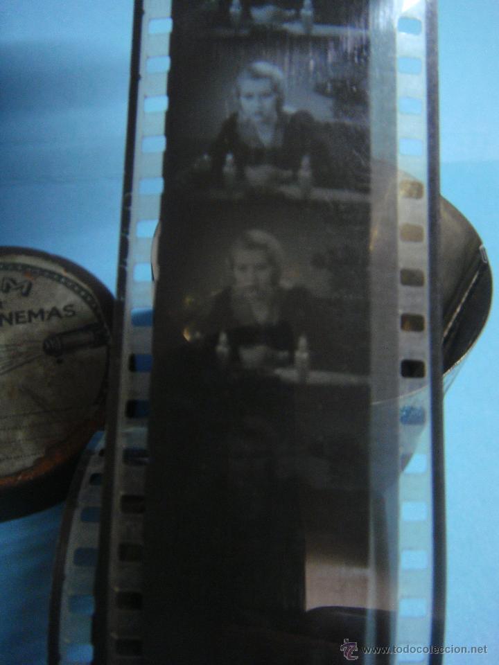 Cine: ANTIGUA LATA CON PELÍCULA AMERICANA DE CINE DE LOS AÑOS 50. MUY RARO. ACTOR Edward G. Robinson. - Foto 2 - 42416900