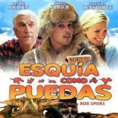 Cine: PELÍCULA LARGOMETRAJE DE CINE EN 35MM ESQUÍA COMO PUEDAS (2001). Lote 44271157