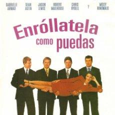 Cine: PELÍCULA LARGOMETRAJE DE CINE EN 35MM ENRÓLLATELA COMO PUEDAS (1999). Lote 46329700