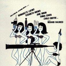 Cine: PELÍCULA LARGOMETRAJE DE CINE EN 35MM DEMASIADO BONITAS PARA SER HONESTAS (1972). Lote 46452064
