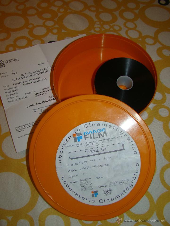 TRAILER DE CINE 35MM - RESIDENT EVIL: ULTRATUMBA (Cine - Películas - 35 mm)