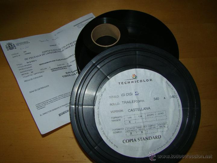 TRAILER DE CINE 35MM - ISI DISI 2 (Cine - Películas - 35 mm)