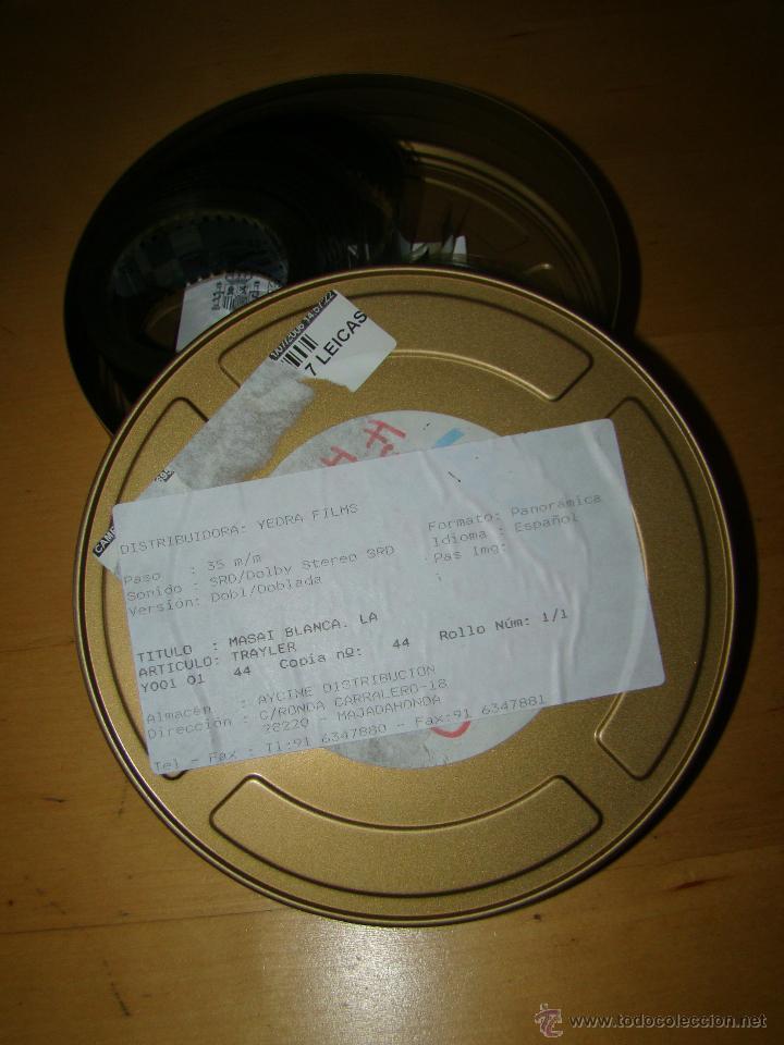 TRAILER DE CINE 35MM - LA MASAI BLANCA (Cine - Películas - 35 mm)