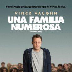 Cine: PELÍCULA DE CINE EN 35MM DELIVERY MAN (UNA FAMILIA NUMEROSA) (2013). Lote 46920686