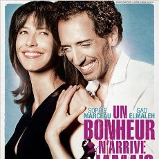 Cine: PELÍCULA DE CINE EN 35MM LA FELICIDAD NUNCA VIENE SOLA (2012). Lote 46955825