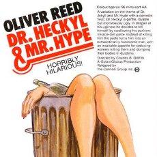 Cine: PELÍCULA DE CINE EN 35MM DR. HECKYL Y MR. HYPE (1980). Lote 111592363
