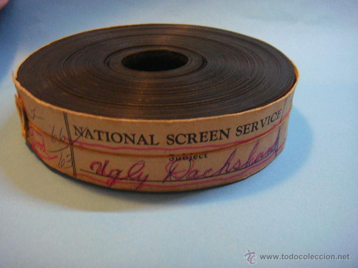 BOBINA ANTIGUA DE TRAILER AMERICANO. PELÍCULA LOS PERROS DE MI MUJER. 1966. CINE. WALT DISNEY (Cine - Películas - 35 mm)