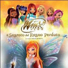 Cine: PELÍCULA LARGOMETRAJE DE CINE EN 35MM WINX CLUB: EL SECRETO DEL REINO PERDIDO (2007). Lote 48339885