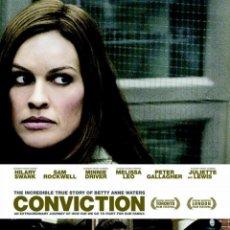 Cine: PELÍCULA DE CINE EN 35MM BETTY ANNE WATERS (CONVICTION) (2010). Lote 48382278