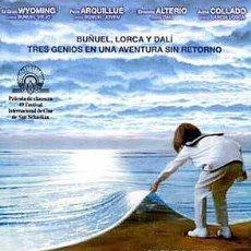 Cine: TRÁILER PELÍCULA DE CINE EN 35MM BUÑUEL Y LA MESA DEL REY SALOMÓN. Lote 156270846