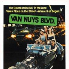 Cine: PELÍCULA DE CINE EN 35MM VAN NUYS BOULEVARD (1973). Lote 51799735