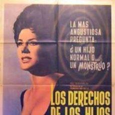 Cine: PELÍCULA LARGOMETRAJE DE CINE EN 35MM LOS DERECHOS DE LOS HIJOS (1963). Lote 54747786