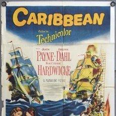 Cine: PELÍCULA LARGOMETRAJE DE CINE EN 35MM EL SECRETO DEL PIRATA (1952). Lote 57892684