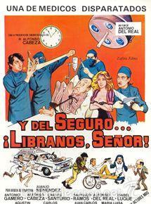PELÍCULA DE CINE EN 35MM Y DEL SEGURO LÍBRANOS, SEÑOR(1982) (Cine - Películas - 35 mm)