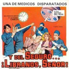 Cine: PELÍCULA DE CINE EN 35MM Y DEL SEGURO LÍBRANOS, SEÑOR(1982). Lote 58338404