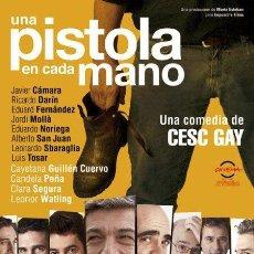 Cine: PELÍCULA DE CINE EN 35MM UNA PISTOLA EN CADA MANO (2012). Lote 81672716