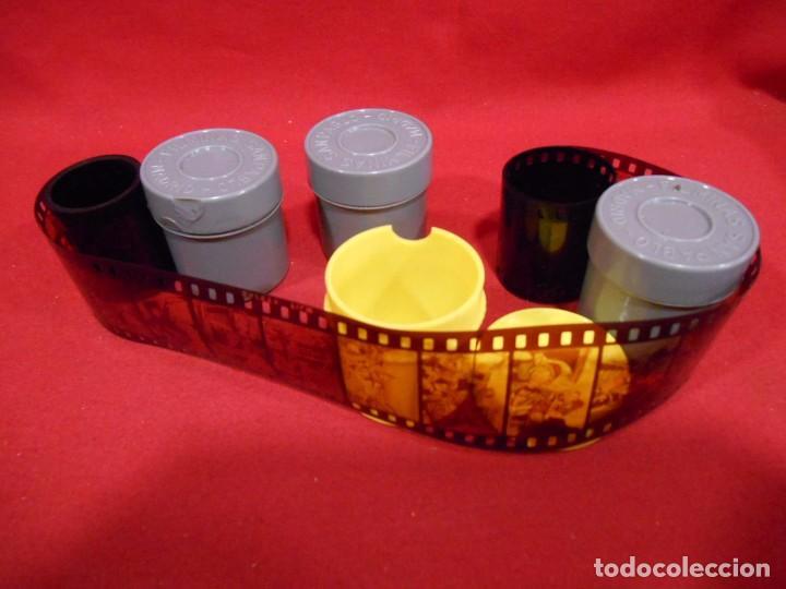 LOTE DE CUATRO PELICULAS FILMINAS DE 35MM (Cine - Películas - 35 mm)