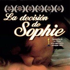 Cine: LA DECISION DE SOPHIE - LARGOMETRAJE 35 MM. Lote 86241660