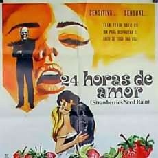 Cine: 24 HORAS DE AMOR - LARGOMETRAJE 35 MM. Lote 86241996