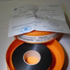 Cine: TRAILER DE CINE EXPEDIENTE ANWAR 35 MM. Lote 86586452