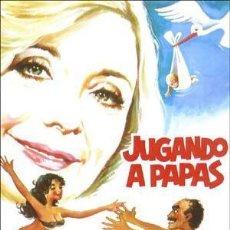Cine: PELÍCULA DE CINE EN 35MM JUGANDO A PAPÁS (1978). Lote 95543003