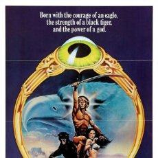 Cine: PELÍCULA DE CINE EN 35MM EL SEÑOR DE LAS BESTIAS (1982). Lote 100448799