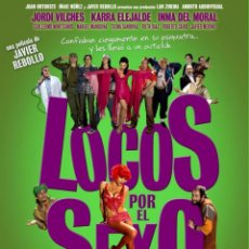 Cine: PELÍCULA DE CINE EN 35MM LOCOS POR EL SEXO (2006). Lote 109080295