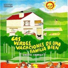 Cine: PELÍCULA DE CINE EN 35MM LAS VERDES VACACIONES DE UNA FAMILIA BIEN (1980). Lote 110758535