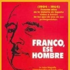 Cine: PELÍCULA DE CINE EN 35MM FRANCO, ESE HOMBRE (1964). Lote 111065419