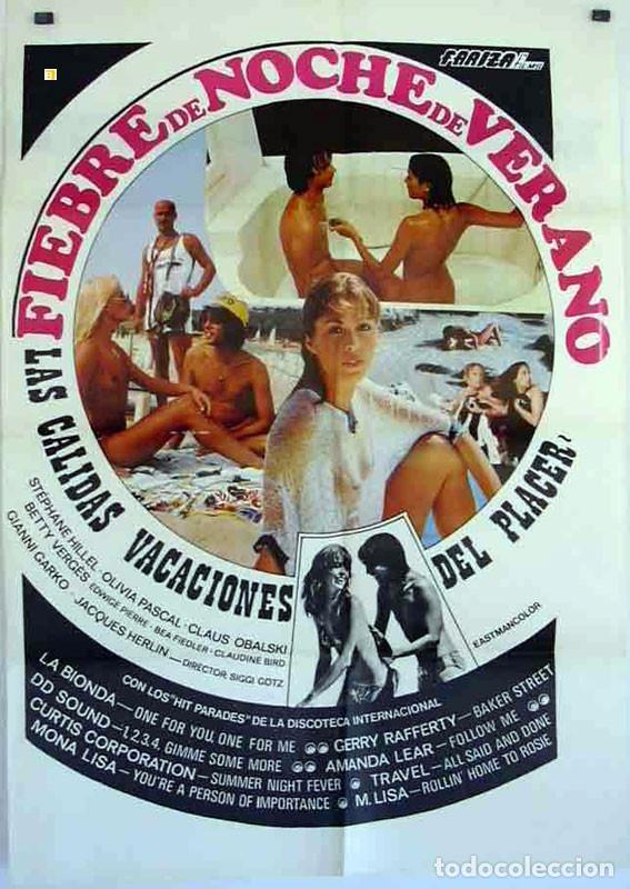 PELÍCULA LARGOMETRAJE DE CINE EN 35MM FIEBRE DE NOCHE DE VERANO (1978) (Cine - Películas - 35 mm)