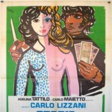 Cine: PELÍCULA LARGOMETRAJE DE CINE EN 35MM PROSTITUCIÓN DE MENORES (HISTORIA DE VIDA Y MALA VIDA) (1975). Lote 111546023