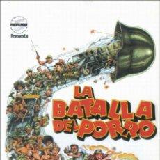 Cine: PELÍCULA DE CINE EN 35MM LA BATALLA DEL PORRO (1981). Lote 115018987