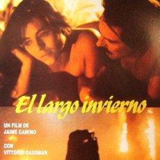 Cine: TRÁILER PELÍCULA DE CINE 35MM EL LARGO INVIERNO. Lote 115039542