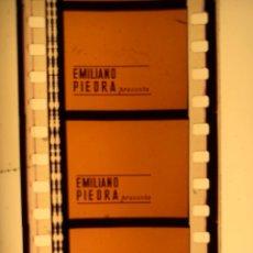 Cine: CABECERA MARCA DISTRIBUIDORA EMILIANO PIEDRA EN PELÍCULA DE CINE 35MM. Lote 117804760