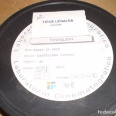 Cine: TRAILER PELICULA STAND UP GUIS (TIPOS LEGALES). Lote 135047422