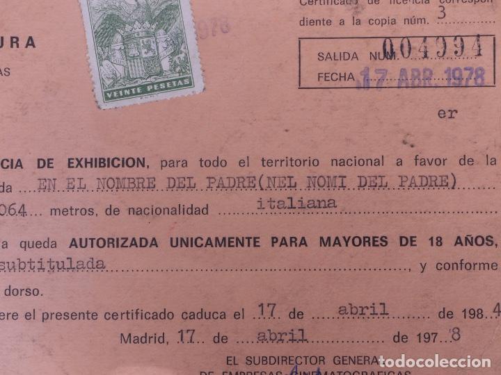 Cine: EN EL NOMBRE DEL PADRE 35MM 1972 - Foto 9 - 135665255