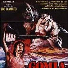 Cine: GOMIA .TERROR EN EL MAR EGEO . JOE D´AMATO - LARGOMETRAJE DE CINE 35 MILIMETROS . VER FOTOS. Lote 136264178