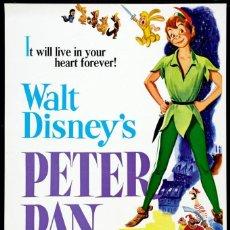 Cine: PELÍCULA DE CINE EN 35MM PETER PAN (1953). Lote 136576410