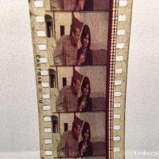 Cine: ROLLO DE PELÍCULA 35 MM - DESCONOZCO TÍTULO - ESTRUCTURA METÁLICA, CARRETE CINE EASTMAN, ESCENA. Lote 137342516