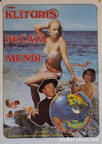 PELÍCULA LARGOMETRAJE DE CINE EN 35MM KLITORIS PECATA MUNDI (1976) (Cine - Películas - 35 mm)