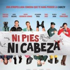 Cine: TRÁILER PELÍCULA DE CINE EN 35MM NI PIES NI CABEZA. Lote 151453844