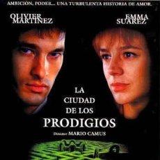 Cine: TRÁILER PELÍCULA DE CINE EN 35MM LA CIUDAD DE LOS PRODIGIOS. Lote 151454756