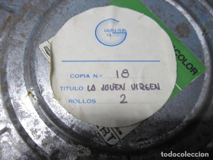 Cine: FUNDAS DE PELICULAS DE LATA O CHAPA AGFA GEVAERT MADE IN BELGIUM GEVACOLOR - Foto 4 - 152228410