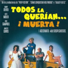 Cine: TRÁILER EN PELÍCULA DE CINE DE 35MM TODOS LA QUERÍAN MUERTA. Lote 153585222