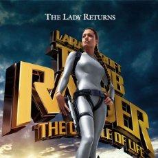 Cine: TRÁILER EN PELÍCULA DE CINE DE 35MM TOMB RAIDER 2: LA FUENTE DE LA VIDA. Lote 153591276