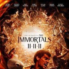 Cine: TRÁILER EN PELÍCULA DE CINE DE 35MM IMMORTALS (INMORTALES). Lote 156446353