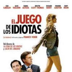 Cine: PELÍCULA LARGOMETRAJE DE CINE EN 35MM EL JUEGO DE LOS IDIOTAS (2006). Lote 156671330