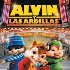 Cine: TRÁILER EN PELÍCULA DE CINE DE 35MM ALVIN Y LAS ARDILLAS. Lote 156781168