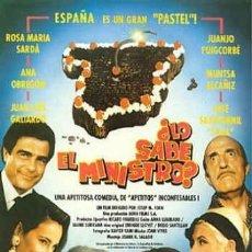 Cine: PELÍCULA LARGOMETRAJE DE CINE EN 35MM ¿LO SABE EL MINISTRO? (1991). Lote 158947594
